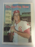 1971 Sporting News September 4 Bill Melton Excellent to Mint lt. center fold from mailbox