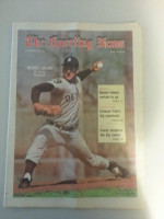 1971 Sporting News September 25 Mickey Lolich Excellent to Mint lt. center fold from mailbox