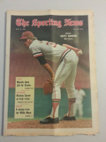 1972 Sporting News May 27 Milt Wilcox Excellent lt. center fold from mailbox