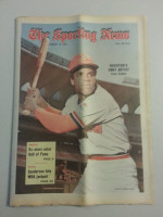 1972 Sporting News August 19 Cesar Cedeno Excellent to Mint lt. center fold from mailbox