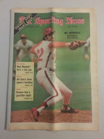 1972 Sporting News September 2 Steve Carlton Excellent to Mint lt. center fold from mailbox