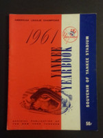 1961 Yankees Yearbook (World Series Winners) Excellent to Mint