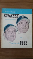 1962 Yankees Yearbook Jay - Mantle and Maris (World Series Winners) Very Good