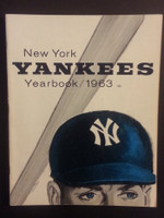 1963 Yankees Yearbook Jay (AL Pennant Winning Team) Near-Mint