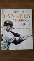 1964 Yankees Yearbook Jay (AL Pennant Winning Team) Excellent to Mint