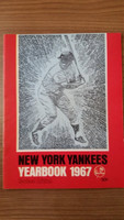 1967 Yankees Yearbook Revised - Mickey Mantle Cover Near-Mint