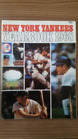 1968 Yankees Yearbook - Mickey Mantle's Last Season Excellent