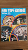 1970 Yankees Yearbook (Thurman Munson Rookie of the Year) Excellent