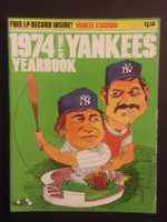 1974 Yankees Yearbook - Includes LP Vinyl Record 'Sounds of a Half Century' Near-Mint