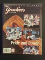 1988 Yankees Yearbook Excellent to Mint