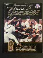 1999 Yankees Yearbook Near-Mint