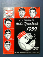 1959 Reds Yearbook (82 pg) Excellent