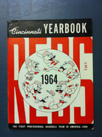 1964 Reds Yearbook (90 pg) Excellent