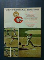 1969 Reds Yearbook (82 pg) Excellent