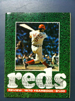1970 Reds Yearbook (82 pg) Near-Mint