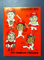 1973 Reds Yearbook (74 pg) Excellent to Mint