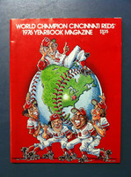 1976 Reds Yearbook (74 pg) Near-Mint