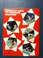 1977 Reds Yearbook (74 pg) Near-Mint to Mint