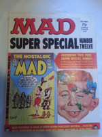 Mad Super Special #12 w/Comic Insert Present (1973) Super Special Excellent