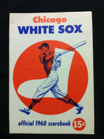 1960 White Sox Game Program vs Red Sox (28 pg) Scored June 24 - Shaw vs Monbouquette (Chi 2-1, Ted Williams 2B) Excellent to Excellent Plus [Non-detailed scoring]