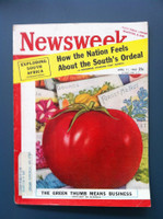 1960 Newsweek April 11 Green Thumb Means Business Very Good