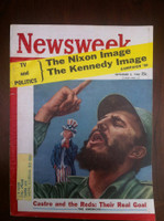 1960 Newsweek September 5 Fidel Castro Very Good to Excellent