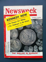 1960 Newsweek December 5 The Dollar in Danger Good to Very Good