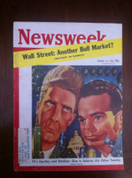 1961 Newsweek March 13 Huntley and Brinkley Very Good to Excellent