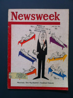 1961 Newsweek May 29 Neuroses and Physchiatry Very Good