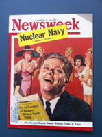1961 Newsweek November 27 Robert Morse (Broadway Star) Good to Very Good