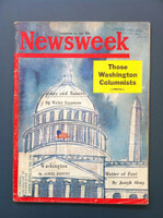 1961 Newsweek December 18 Washington Columnists Good to Very Good