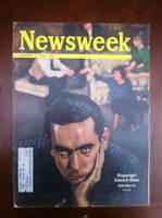 1963 Newsweek February 4 Playright Edward Albee Excellent The word DUPE is written in small pen on the cover, ow great