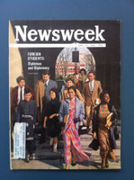 1963 Newsweek April 22 Foreign Students Very Good to Excellent