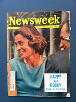 1963 Newsweek August 26 Nelson Rockerfeller Poor