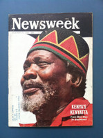 1963 Newsweek December 16 Kenya's Kenyatta Good to Very Good