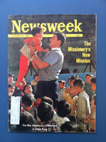 1963 Newsweek December 30 The Missionary's New Mission Very Good