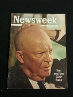 1964 Newsweek May 18 Ike and the GOP Race Good to Very Good