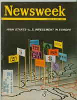 1965 Newsweek March 8 US Investment in Europe Excellent