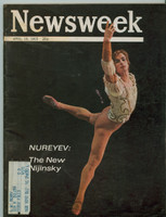 1965 Newsweek April 19 Nureyev Very Good to Excellent