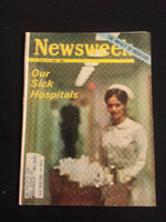 1966 Newsweek July 11 Our Sick Hospitals Good to Very Good