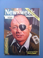 1967 Newsweek Atlantic June 19 Moshe Dayan: Victory in the Desert Very Good to Excellent This version is Newsweek Atlantic and is identical but smaller than the regular issue