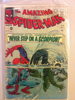 Spiderman #29 Scorpion Oct 65 Fair to Good Heavy cover wear and creasing; contents ok