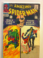 Spiderman #37 Intro Norman Osborn Jun 66 Good to Very Good Wear on binding, edges; contents fine