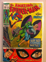 Spiderman #94 Beetle (Spider-Man Origin Retold) Mar 71 Very Good Wear on cover, creasing; contents fine