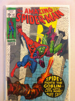 Spiderman #97 Spidey and Goblin Jun 71 Fair to Good Heavy moisture, contents ok
