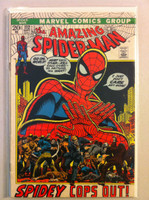 Spiderman #112 Spidey Cops Out Sep 72 Very Good to Fine