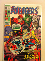 The Avengers #79 Lethal Legion Aug 70 Very Good to Fine