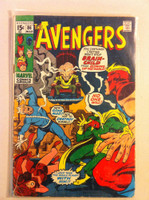 The Avengers #86 Brain-Child Mar 71 Fair to Good Heavy scuffing on cover, staple rust; contents fine