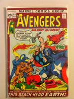 The Avengers #93 Fantastic Four (52 pg) Nov 71 Good to Very Good Heavy scuffing, creasing on cover; contents fine