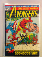 The Avengers #97 Godhood's End Mar 72 Good Heavy wear on cover; contents fine